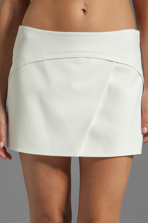 BCBGMAXAZRIA Codie Short in Off White