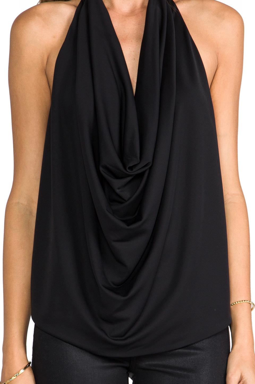 BCBGMAXAZRIA Ebony Top in Black