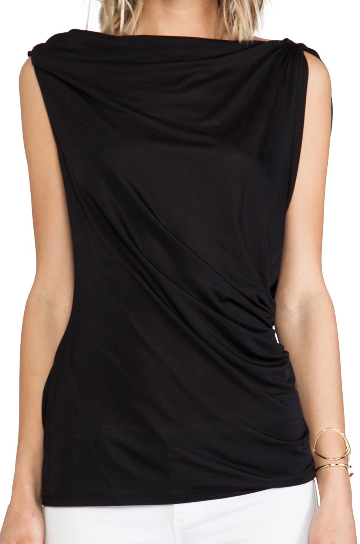 BCBGMAXAZRIA Jela Top in Black