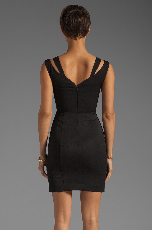 Black Halo Analisa Mini Dress in Black