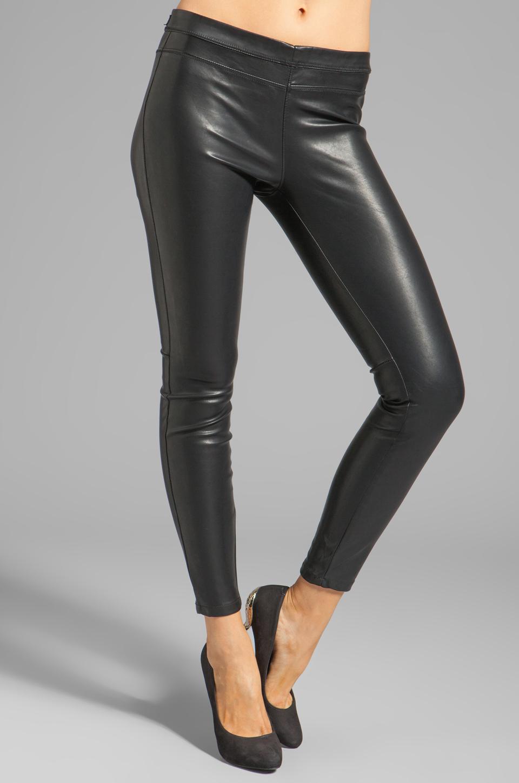 BLANKNYC Vegan Leather Legging in Pussy Cat