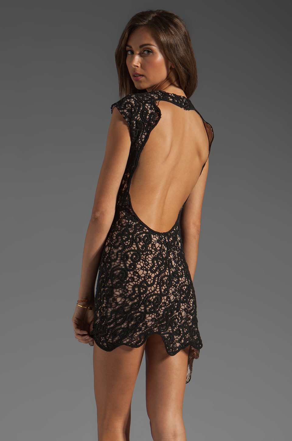 bless'ed are the meek Siren Queen Dress in Black