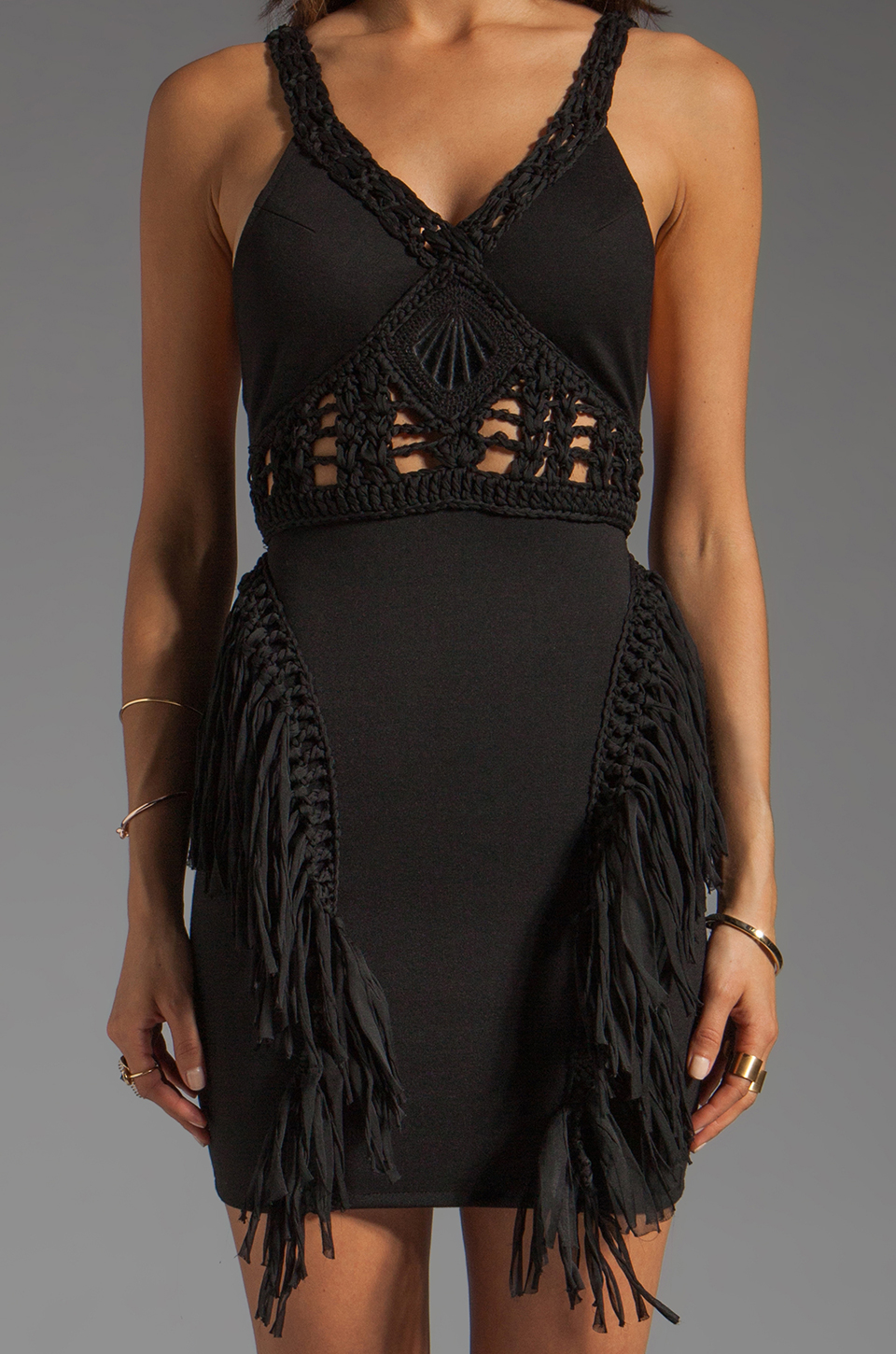 bless'ed are the meek Beguile Dress in Black