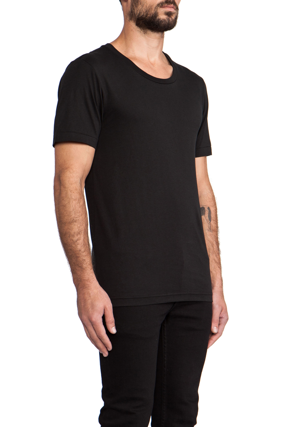 BLK DNM T-Shirt 3 in Black