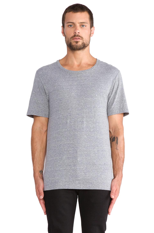 BLK DNM T-Shirt 3 in Light Grey Melange