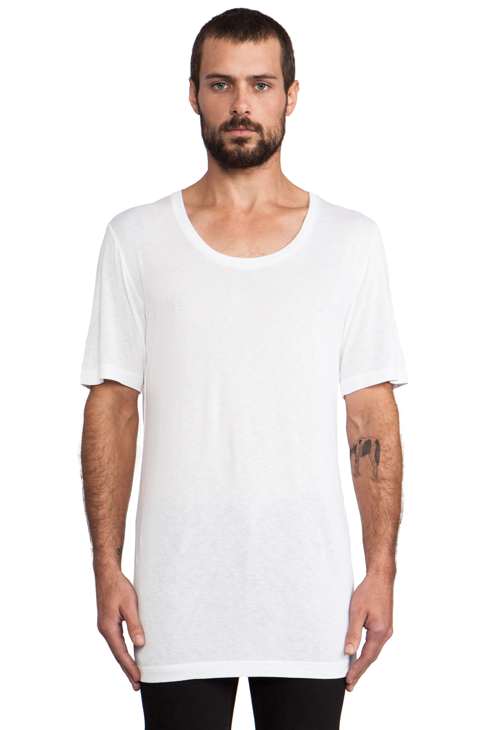 BLK DNM T-Shirt 12 in White