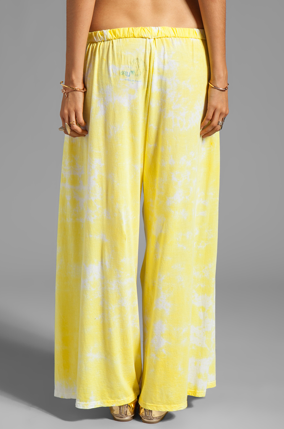 Blue Life Beach Trouser in Sunbeam