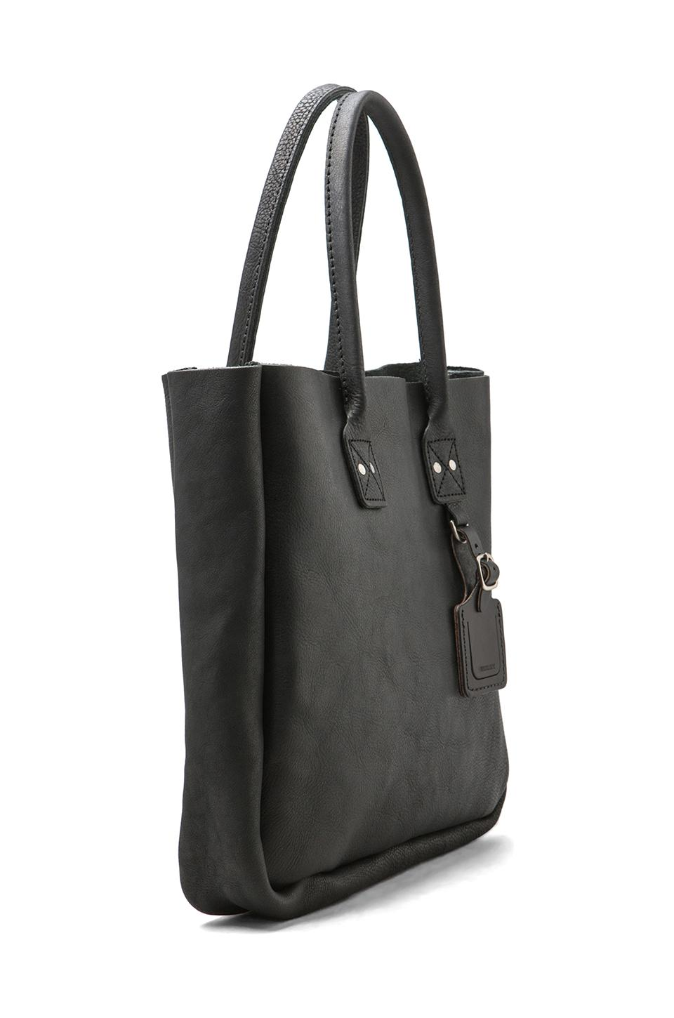 Billykirk No. 235 Leather Tote in Black