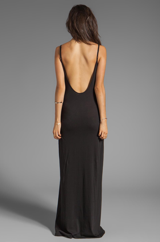 Low Back Long Dress