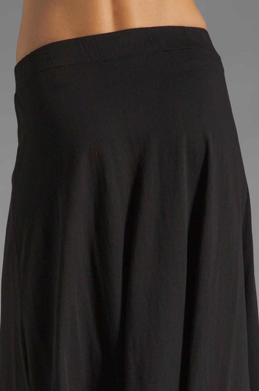 Bobi Supreme Jersey Maxi Skirt in Black