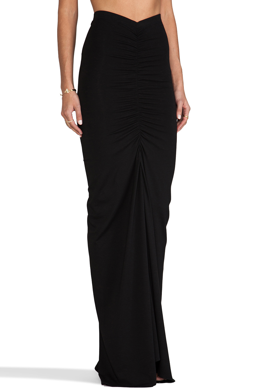Boulee AJ Maxi Skirt in Black