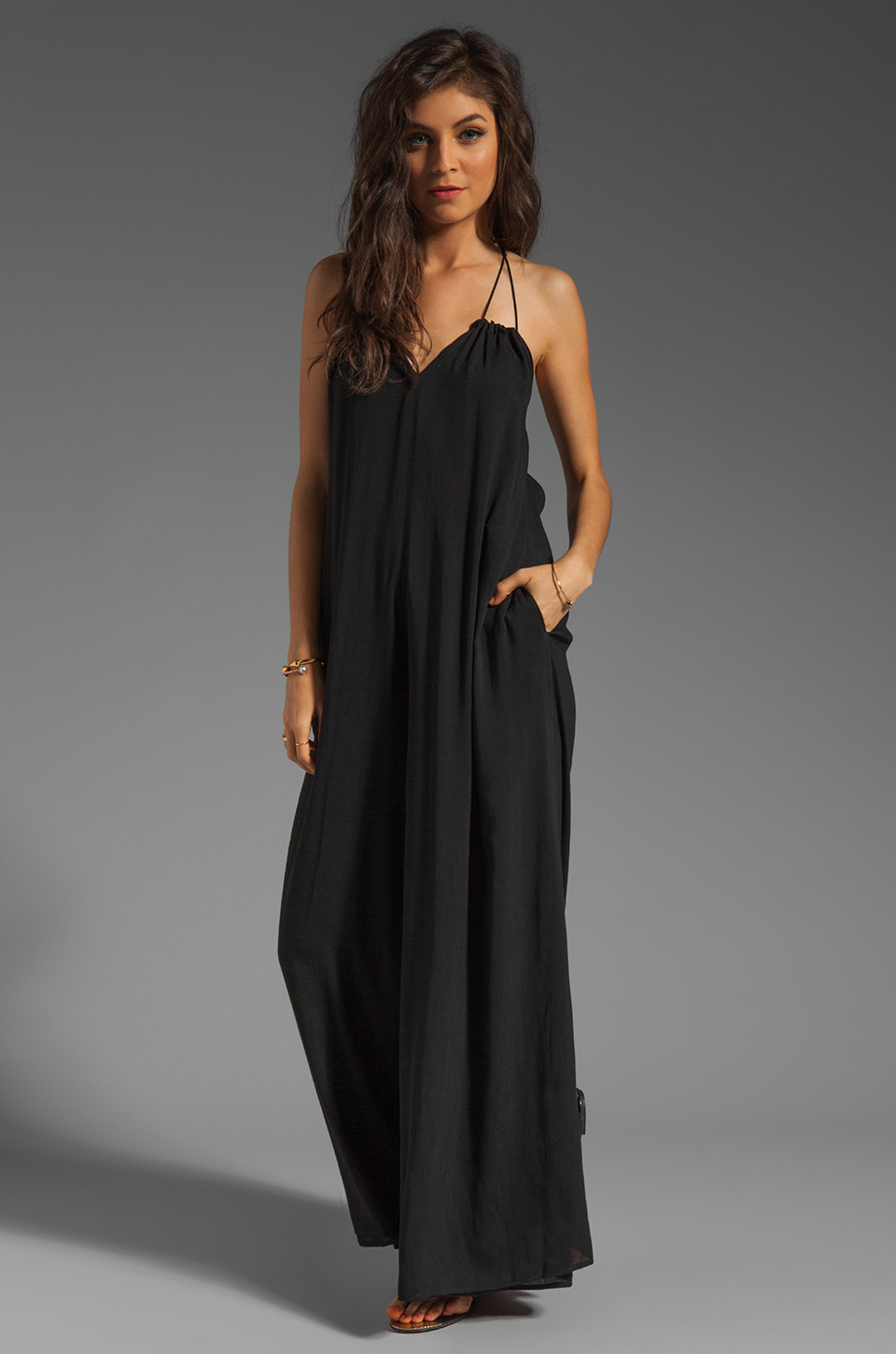 Boulee Paula Jumpsuit in Black