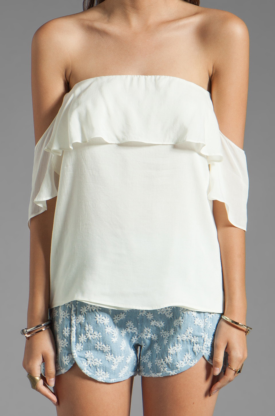 Boulee Emily Top in White