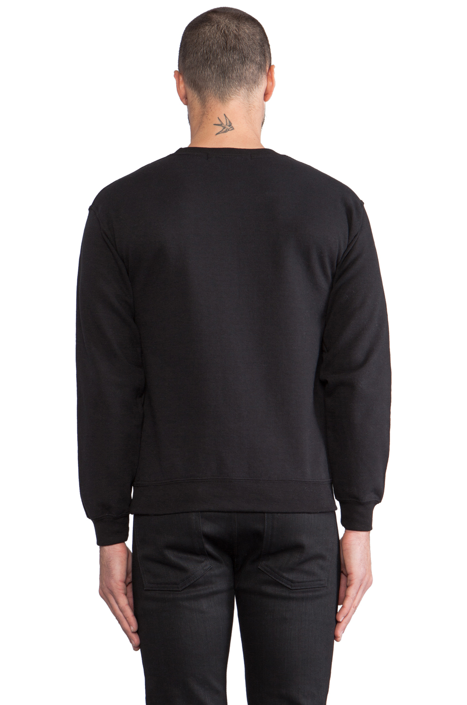 Brian Lichtenberg Homies Sweatshirt in Black/White