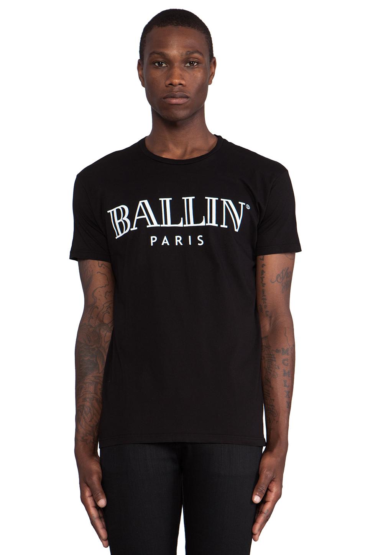 Brian Lichtenberg Ballin Tee in Black & White