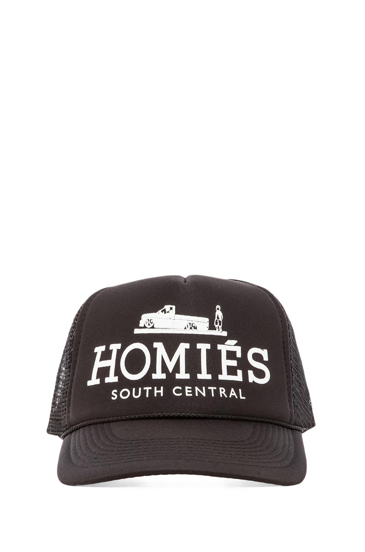 Brian Lichtenberg Homies Unisex Hat in Black/White