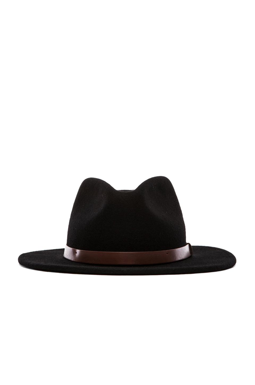 Brixton Messer Fedora in Black