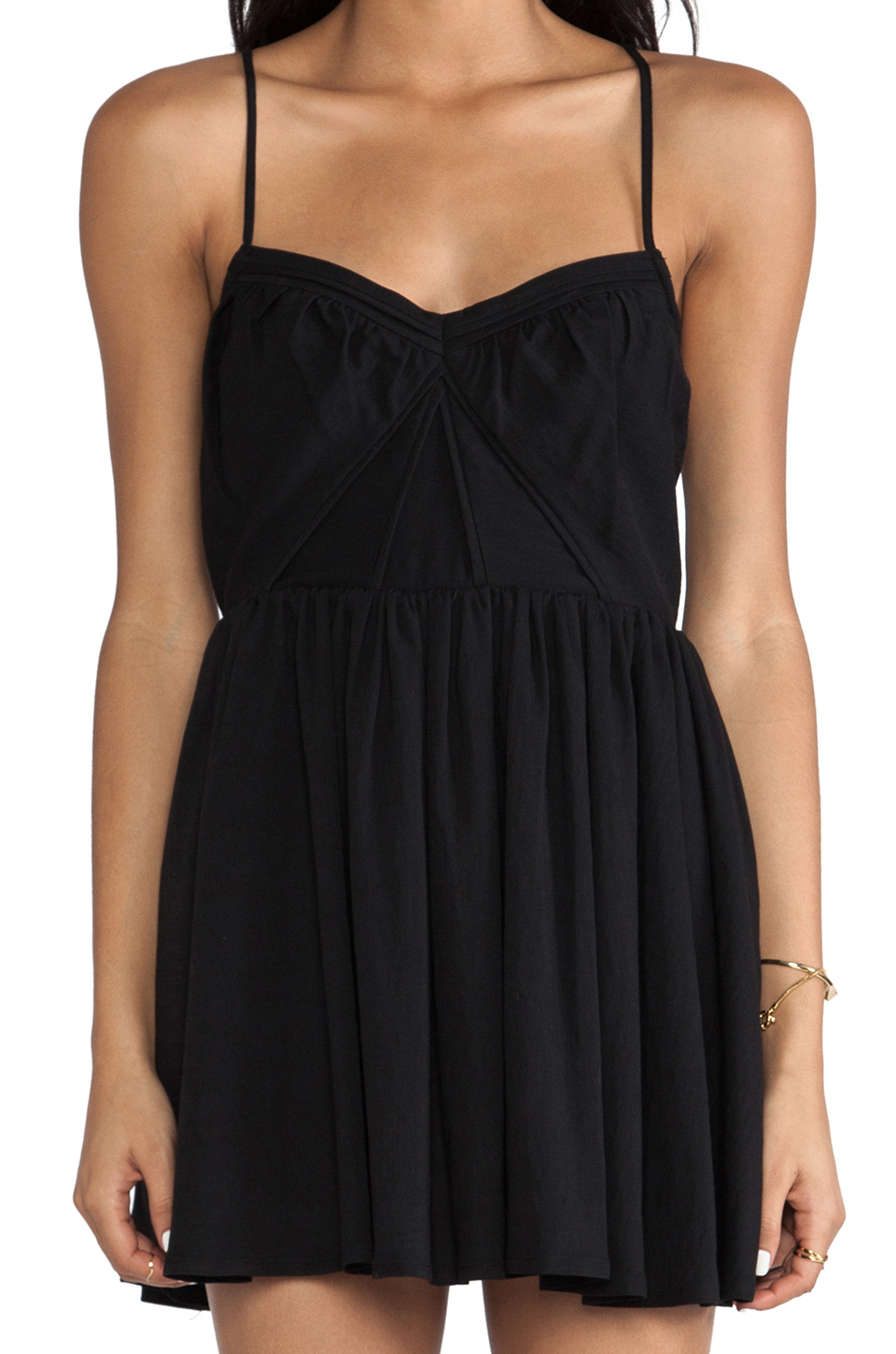 Cameo VCR Dress in Black