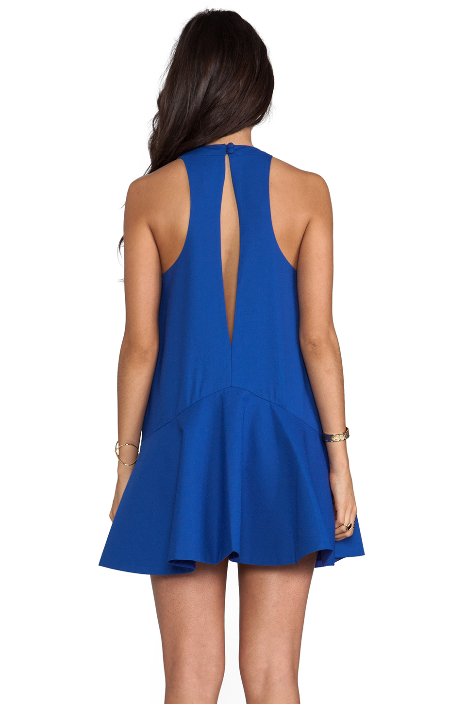 Cameo Bless This Mess Dress in Pacific Blue