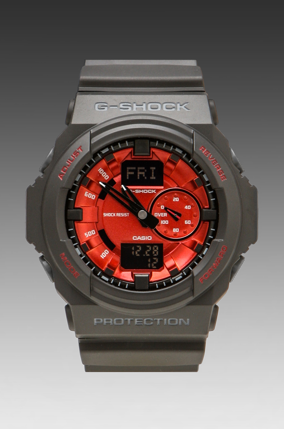 G-Shock GA-150MF-1A in Black/Red