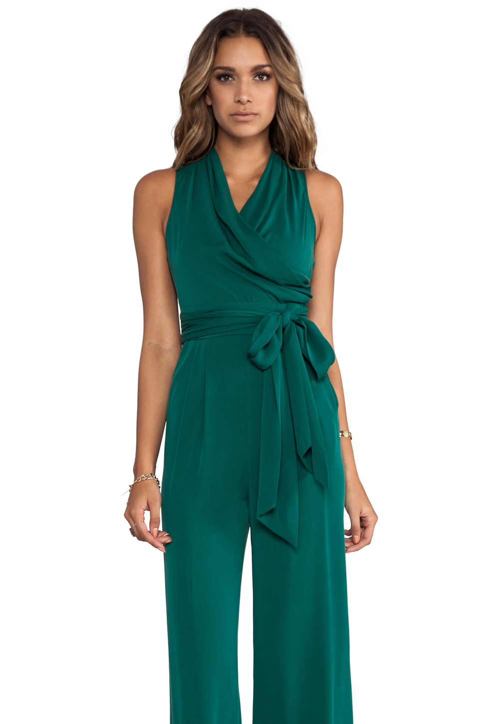 Catherine Malandrino Marion Favorites Jumpsuit in Green