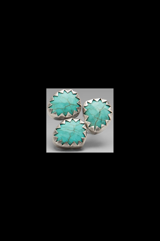 CHAN LUU Ring in Turquoise