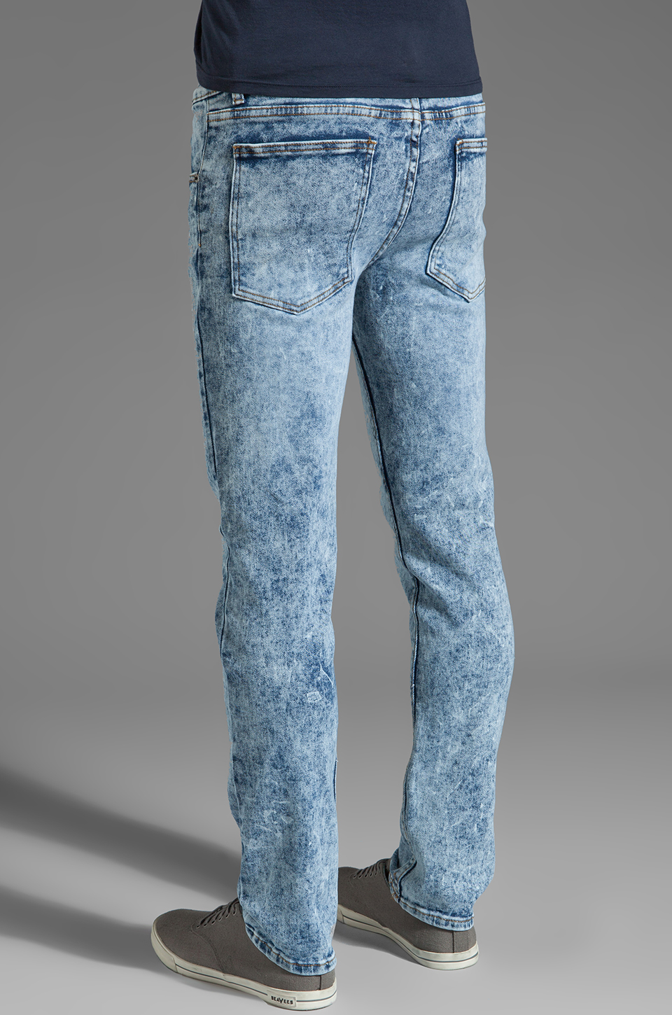 Cheap Monday Tight Jeans in Stone Used
