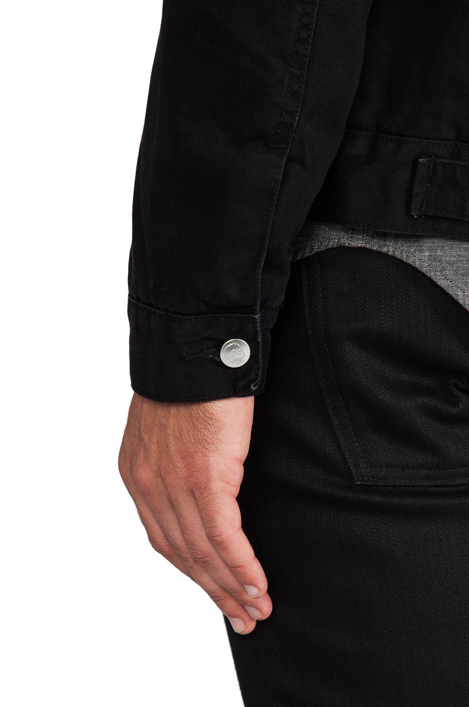 Cheap Monday Buzz Jeans Jacket in Black
