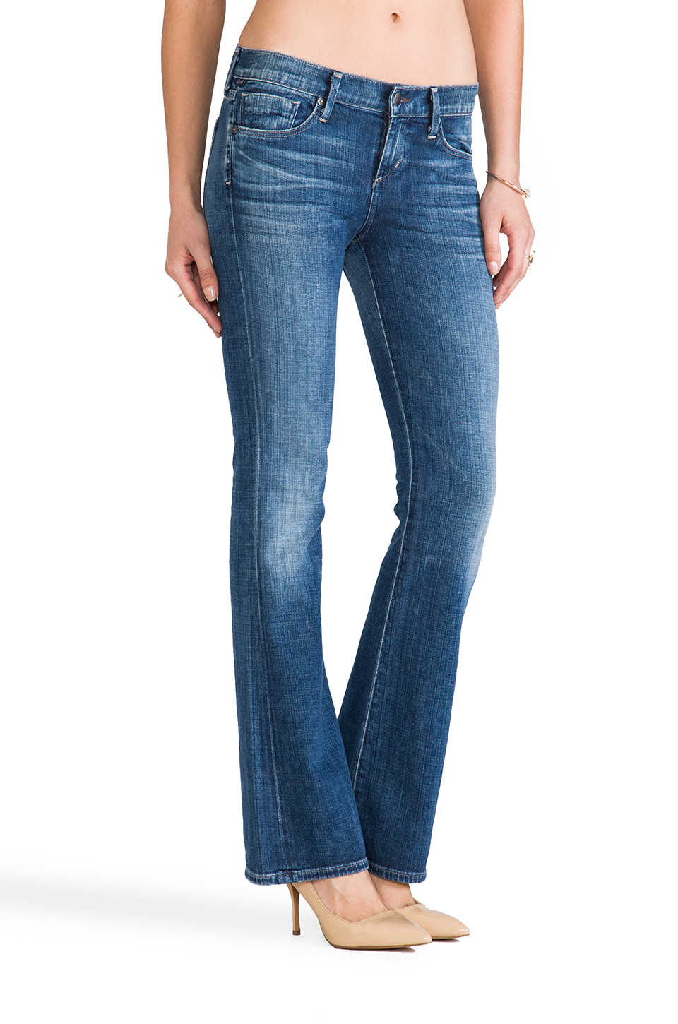 Citizens of Humanity Dita Petite Bootcut in Wedgewood