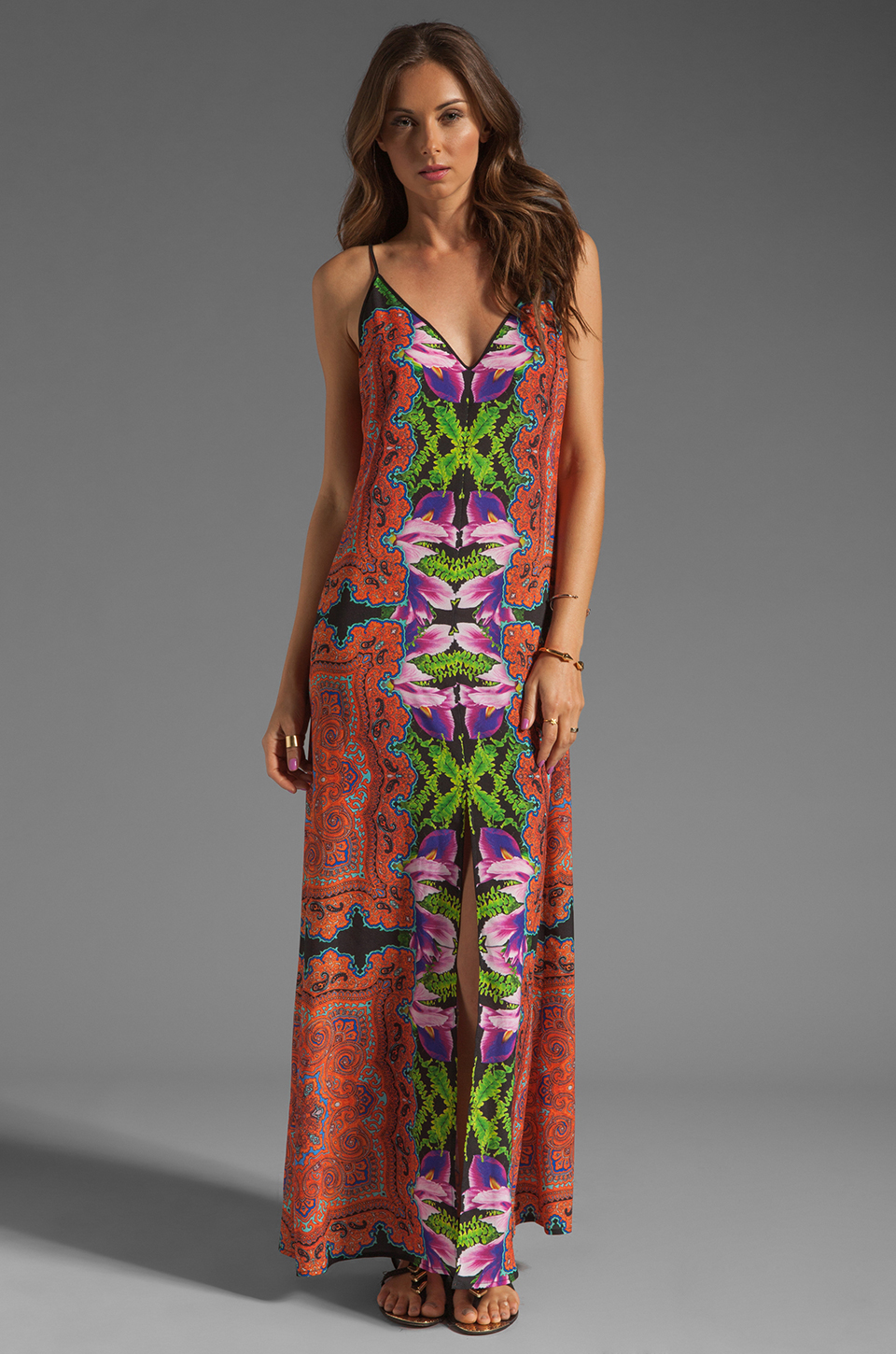 Clover Canyon Orchid Trip Dress in Multi