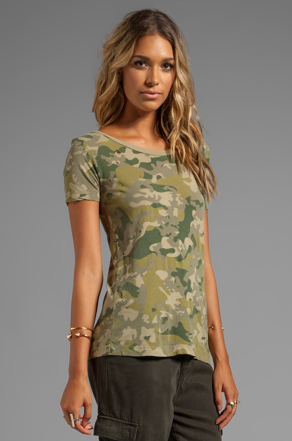 Chaser EXCLUSIVE The Destroyed Tee in Camo