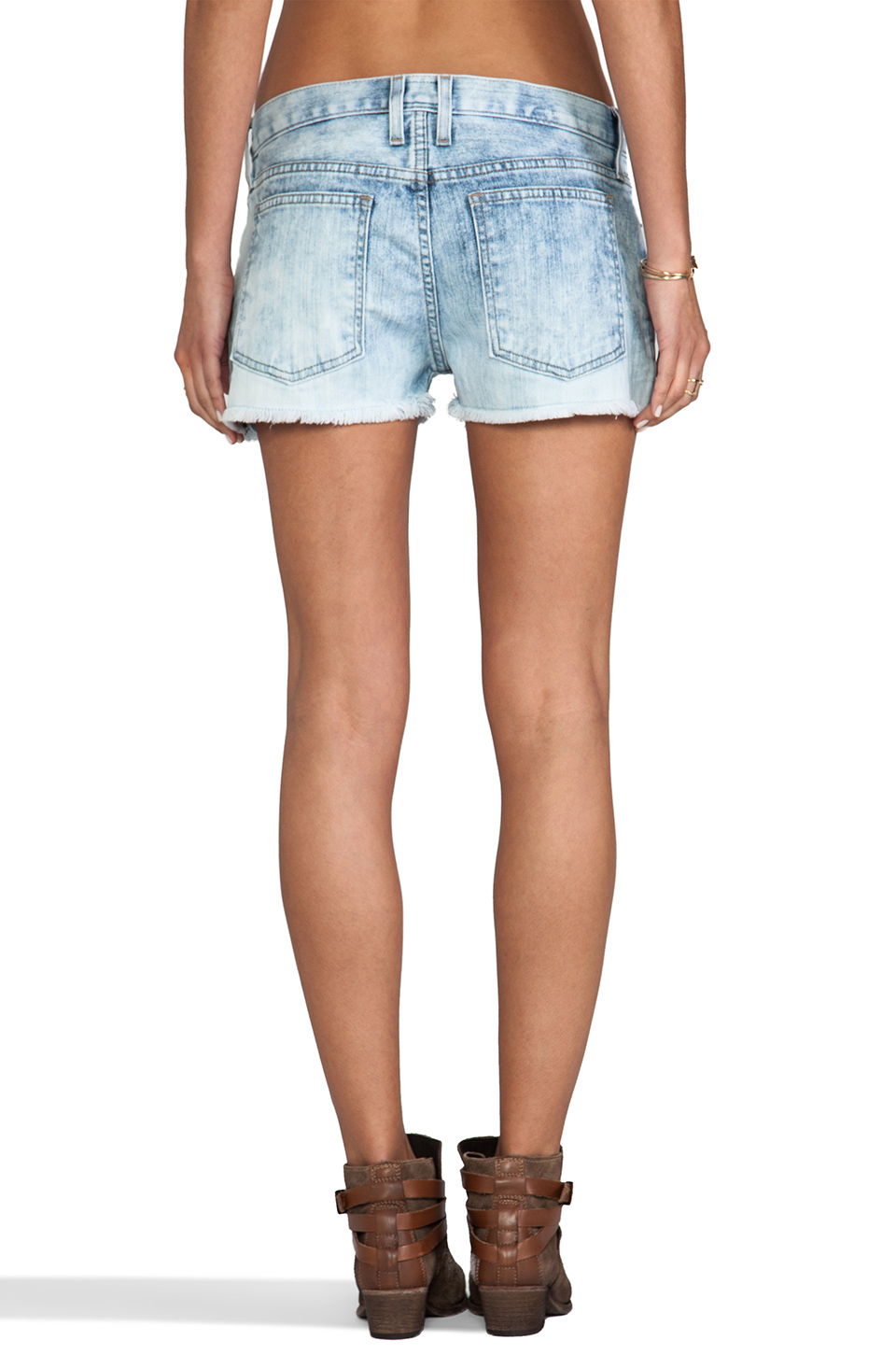 Current/Elliott The Boyfriend Short in Easy Rider