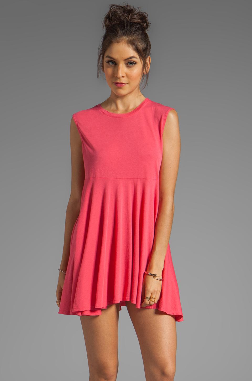 Daftbird Sleeveless Summer Dress in Cosmo