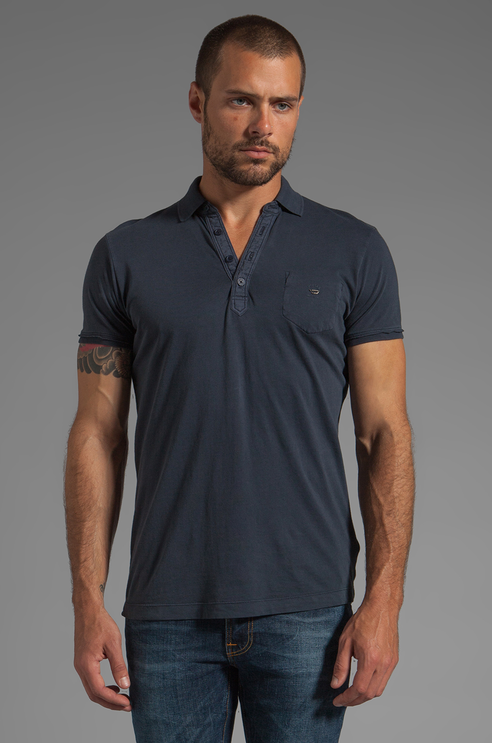 Diesel Erinni Polo in Navy