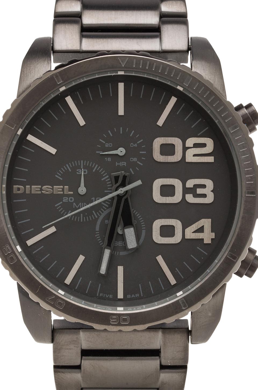 Diesel Double Down DZ4207 51mm in Black IP