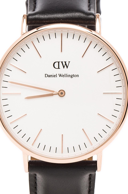 Daniel Wellington Sheffield 40mm in Rosegold