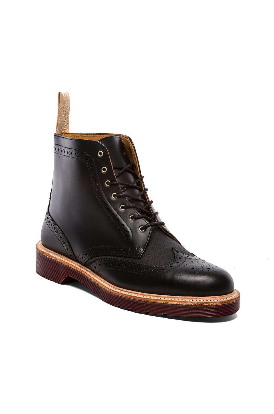 Dr. Martens Bentley Brogue Boot in Black | REVOLVE