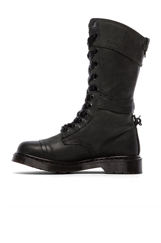 Dr. Martens Triumph 1914 W 14-Eye Boot in Black