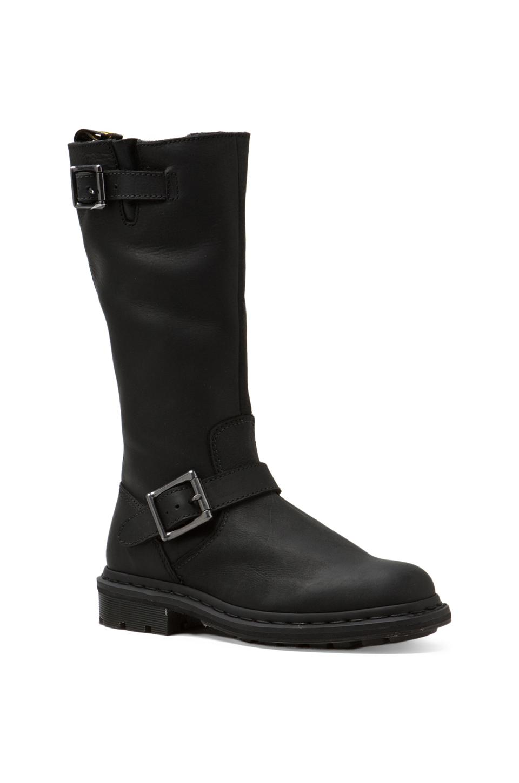 Dr. Martens Robin Tall Biker Boot in Black