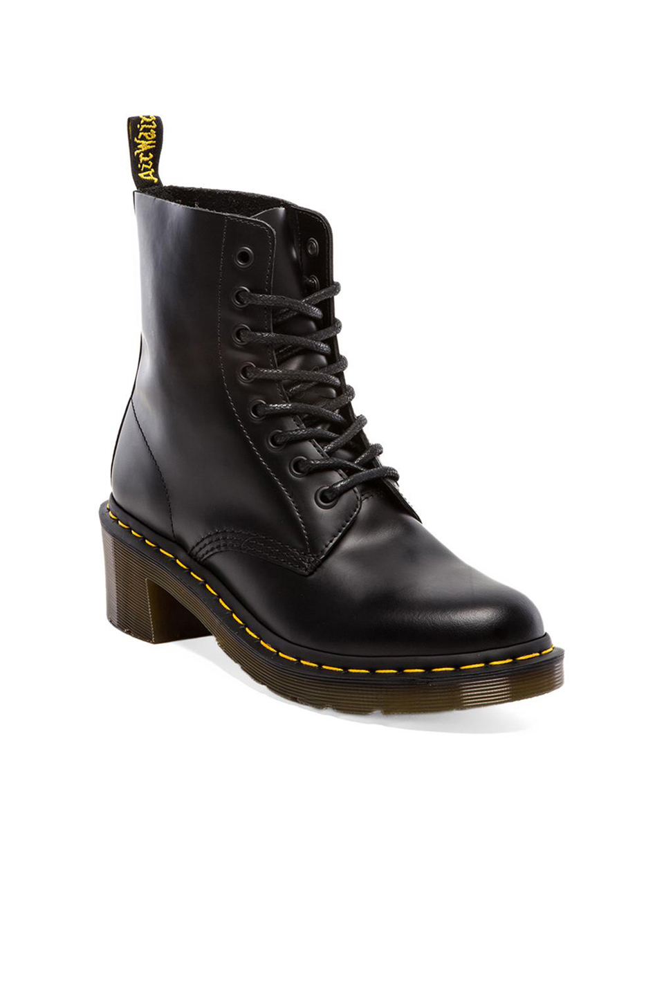 Dr. Martens Clemency 8-Tie Boot in Black