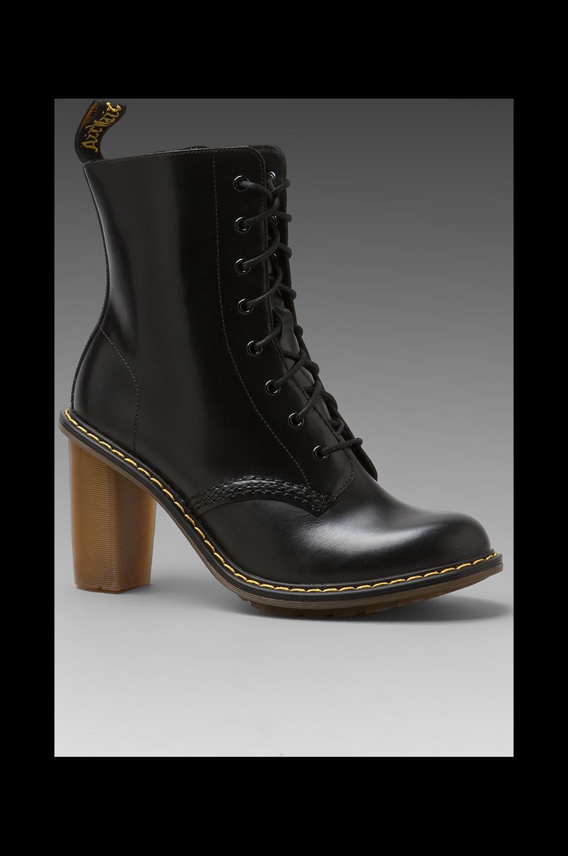 Dr. Martens Sadie 8-Tie Boot PKB in Black