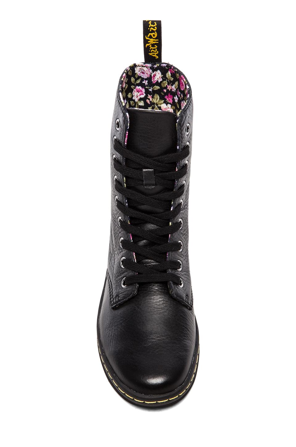 Dr. Martens Stratford 9-Eye Fold Down Boot in Black