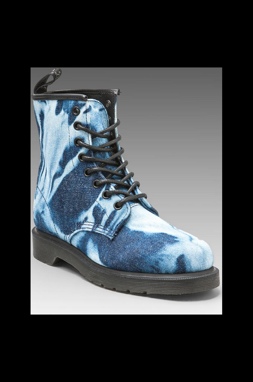 Dr. Martens Castel 8-Eye Boot P DMQ in Blue