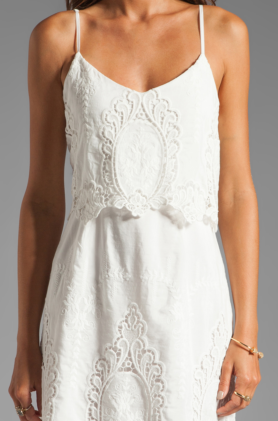 Dolce Vita Jeralyn Dress in White