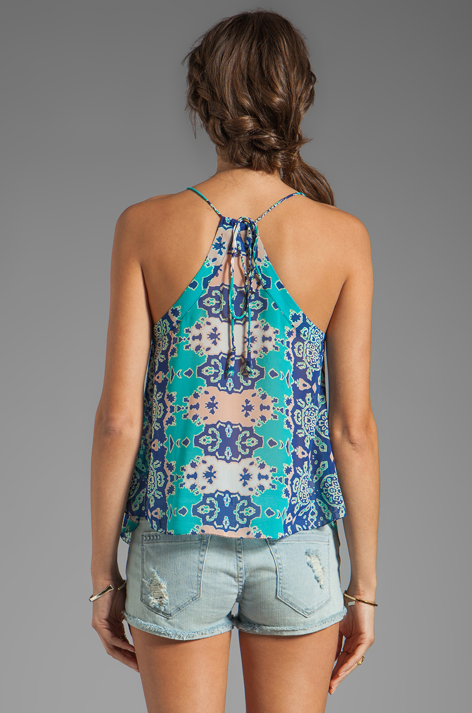 Dolce Vita Juna Beach Bali Tank in Blue Multi