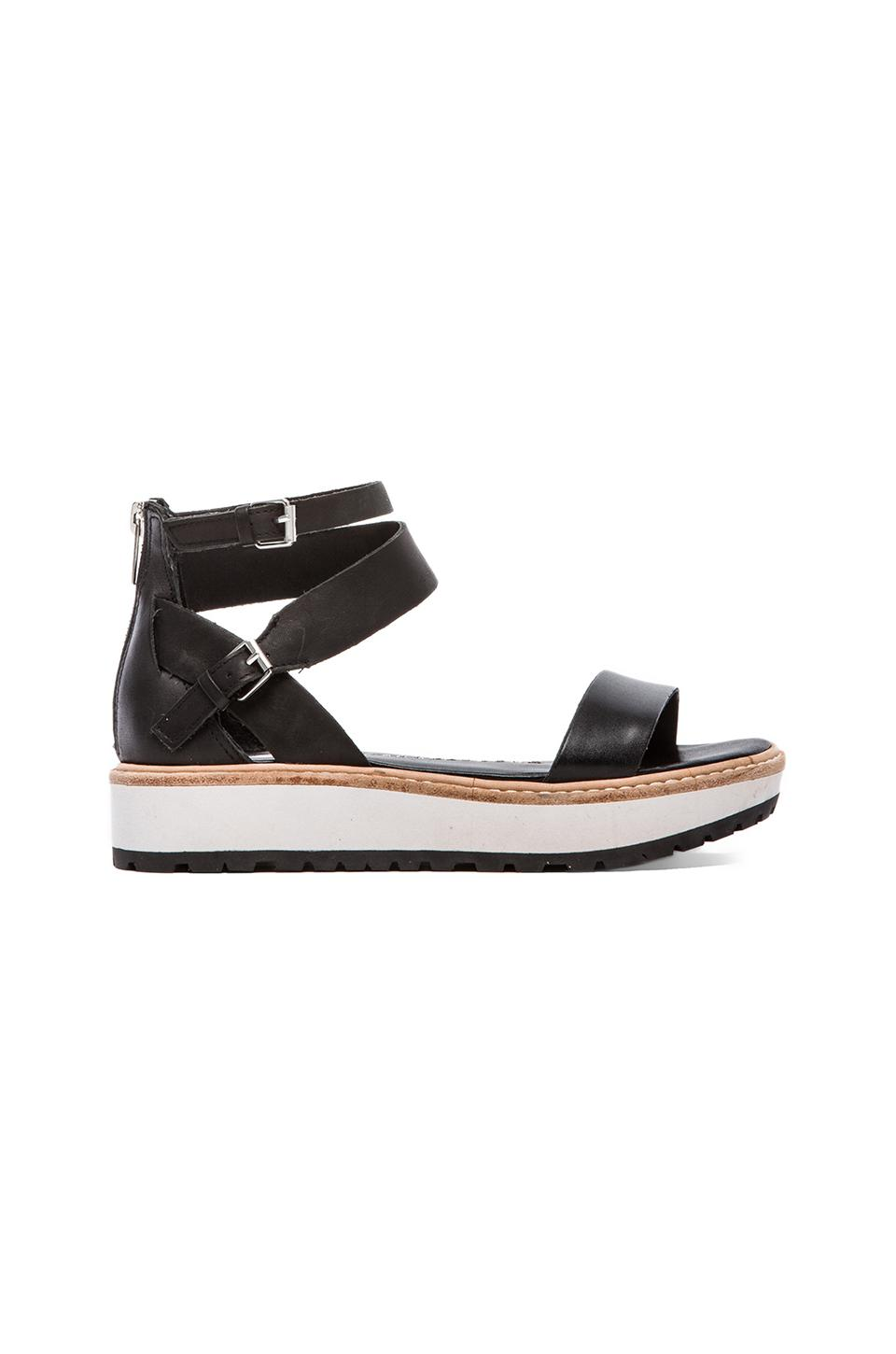 DV by Dolce Vita Zenith Sandal in Black & White