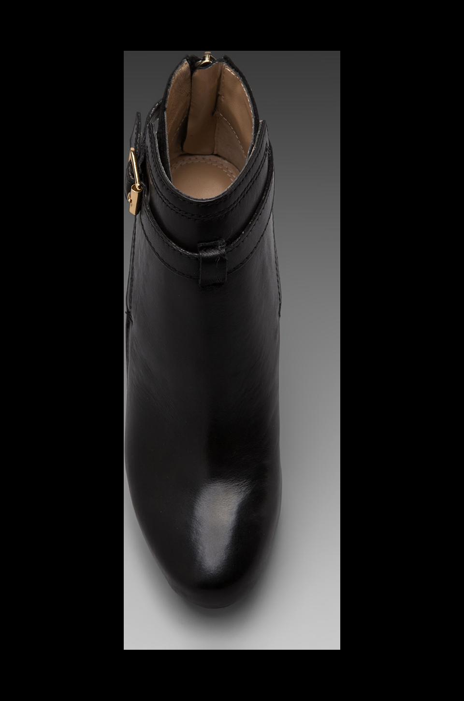 Diane von Furstenberg Charise Bootie in Black/Black