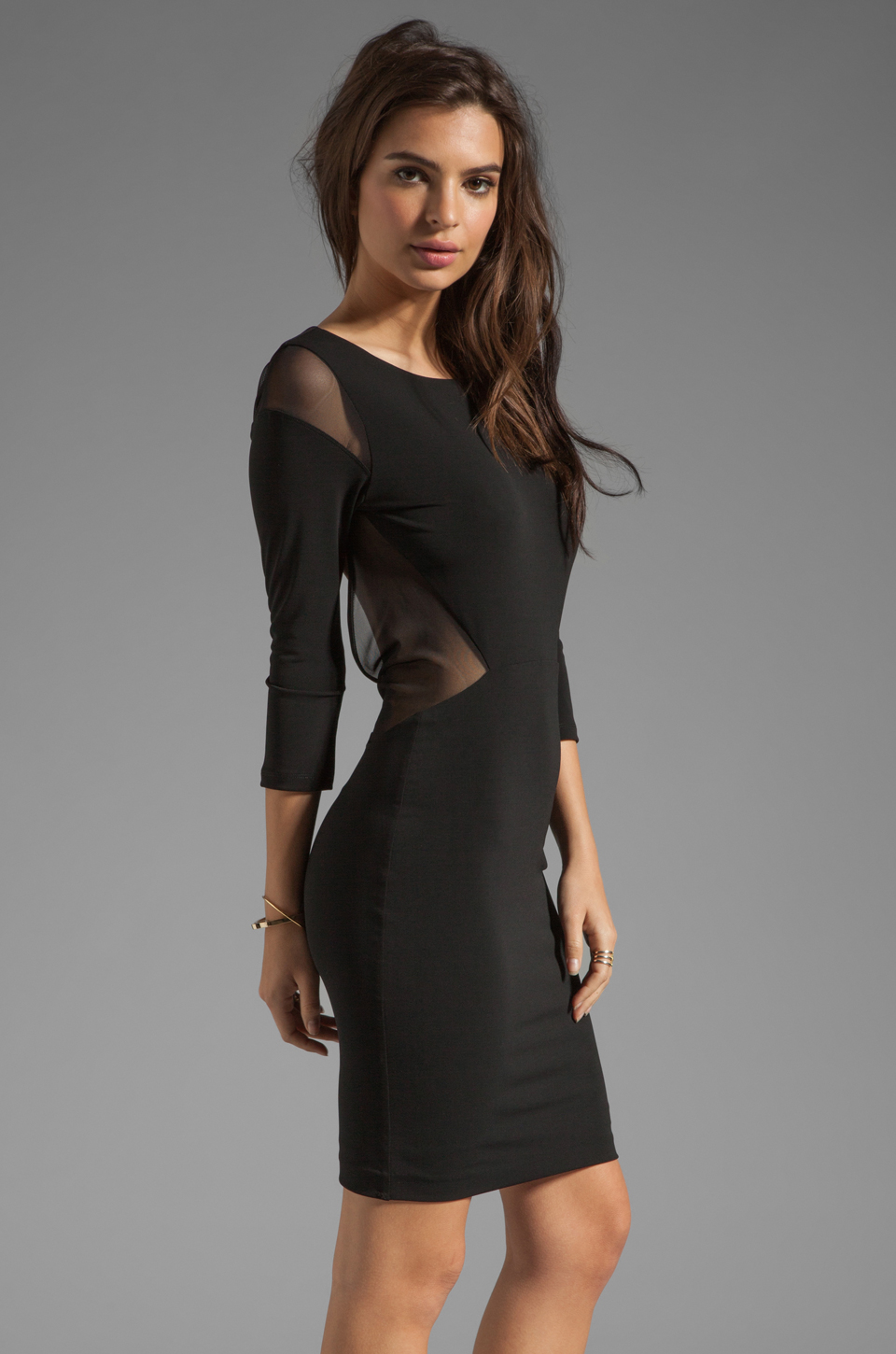 Elizabeth and James Roxy Dress in Black