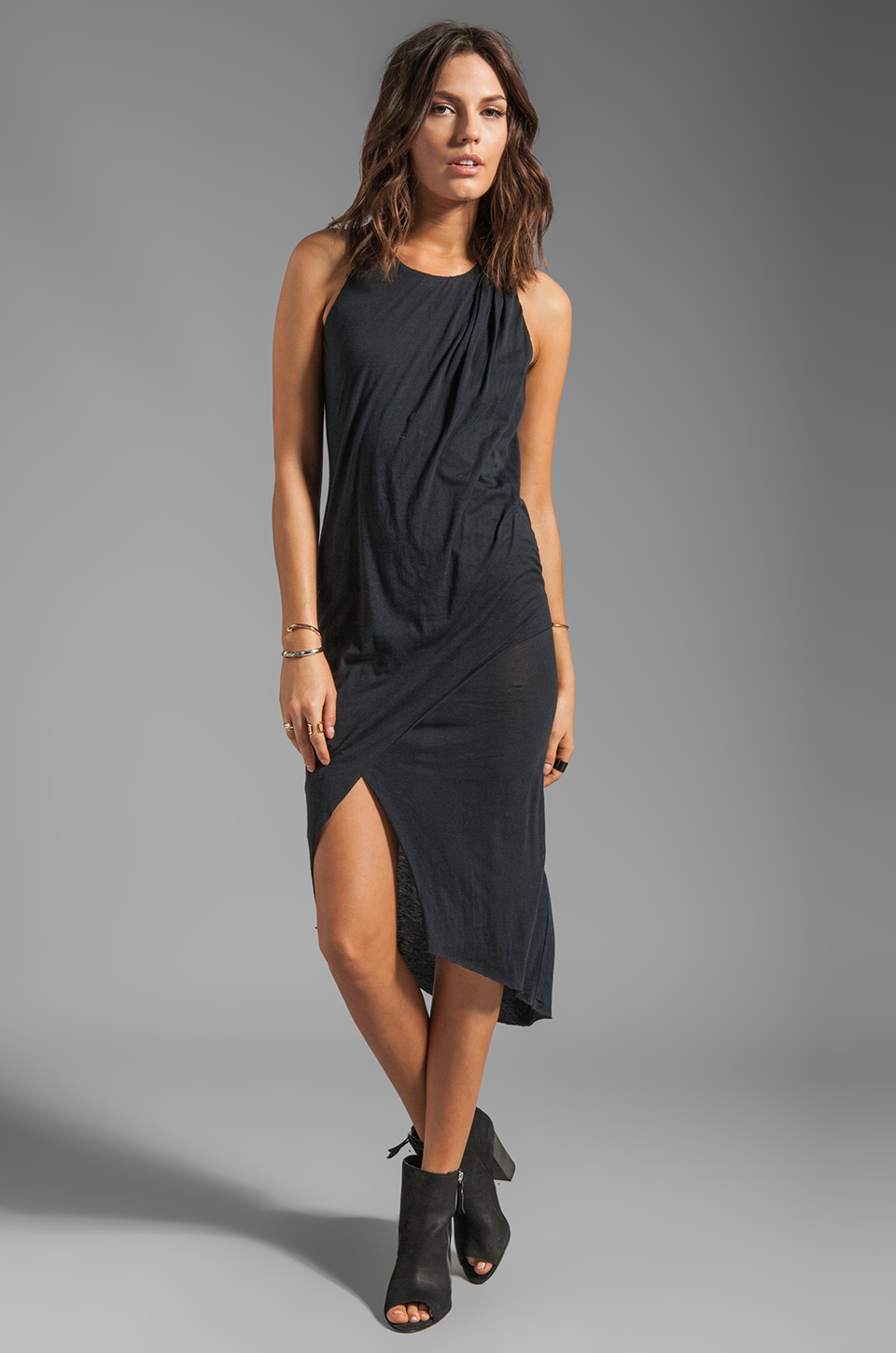 Elizabeth and James Willow Dress en Noir