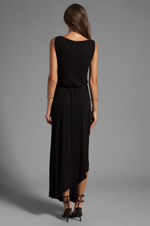 Elizabeth and James Corinne Dress in Black